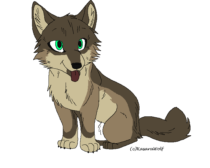 Wolf pup adoptable*CLOSED* by xXWF-adoptablesXx PlusPng.com  - Wolf Pup PNG