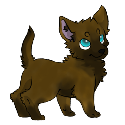 Wolf-Pup-brown-black-wolf.png.787c7f403da097e500085b48ece26966.png - Wolf Pup PNG