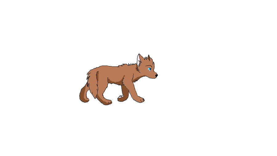 Wolf Pup PNG - 62236
