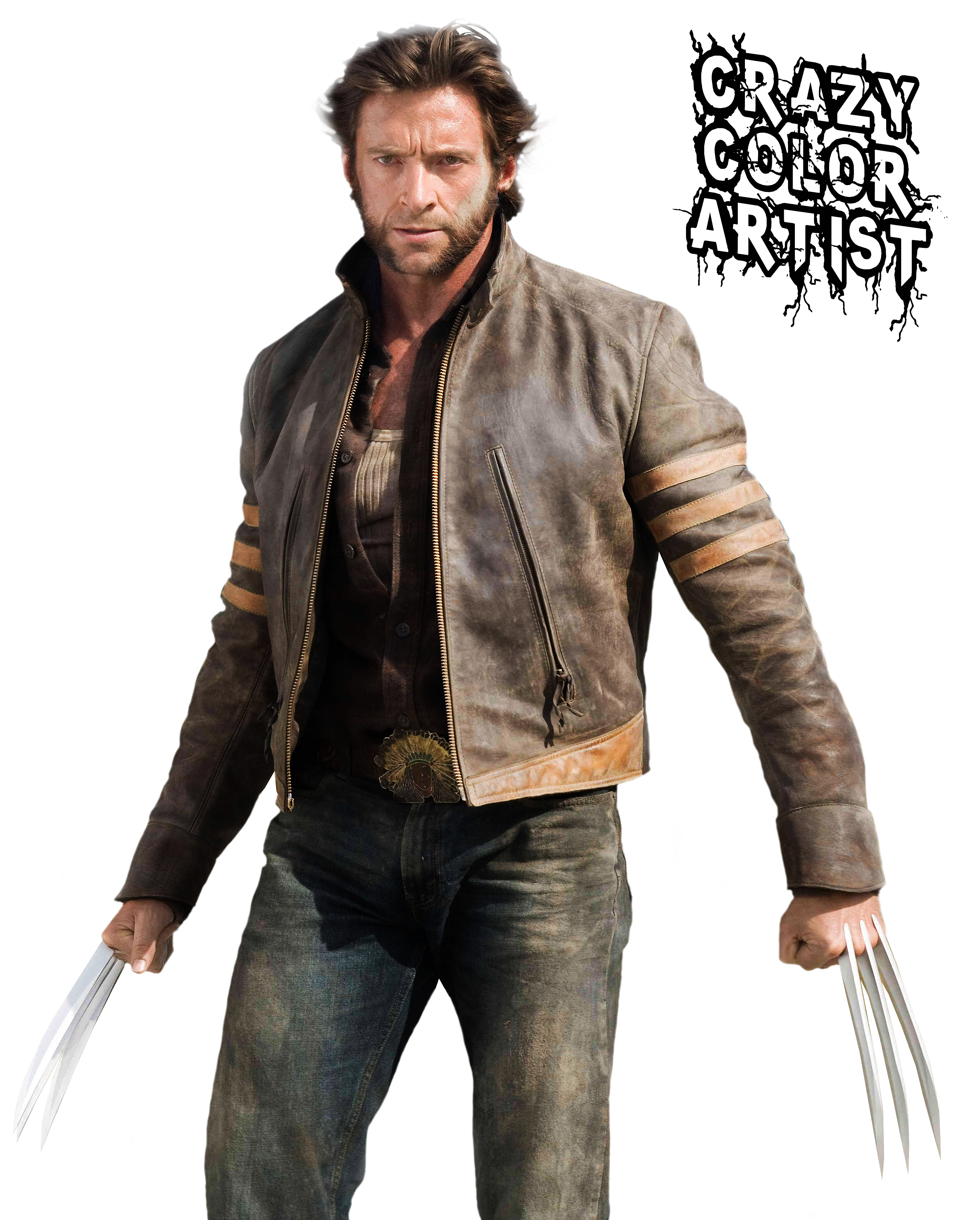 Wolverine PNG by CrazyColorAr