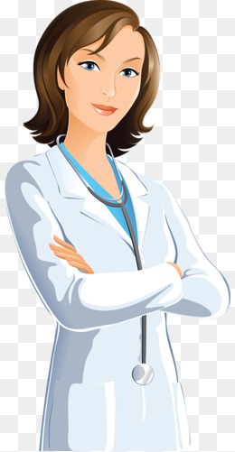 Beauty Doctors, Cartoon, People, Doctors PNG Image and Clipart - Woman Doctor PNG HD