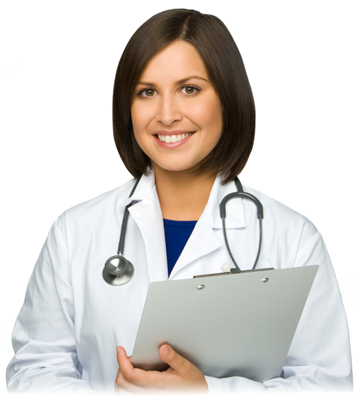 Qualified Doctors - Woman Doctor PNG HD