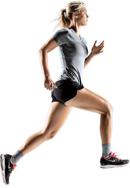 Woman Jogging PNG - 51240