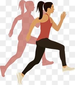 Woman Jogging PNG - 51242