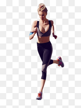Woman Jogging PNG - 51239
