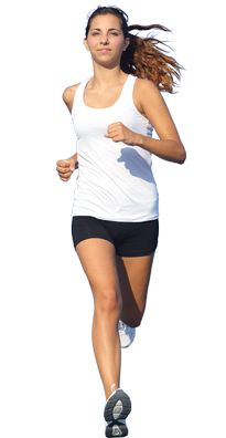 Woman Jogging PNG - 51238