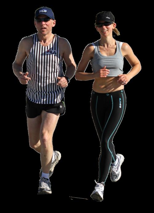 Woman Jogging PNG - 51247