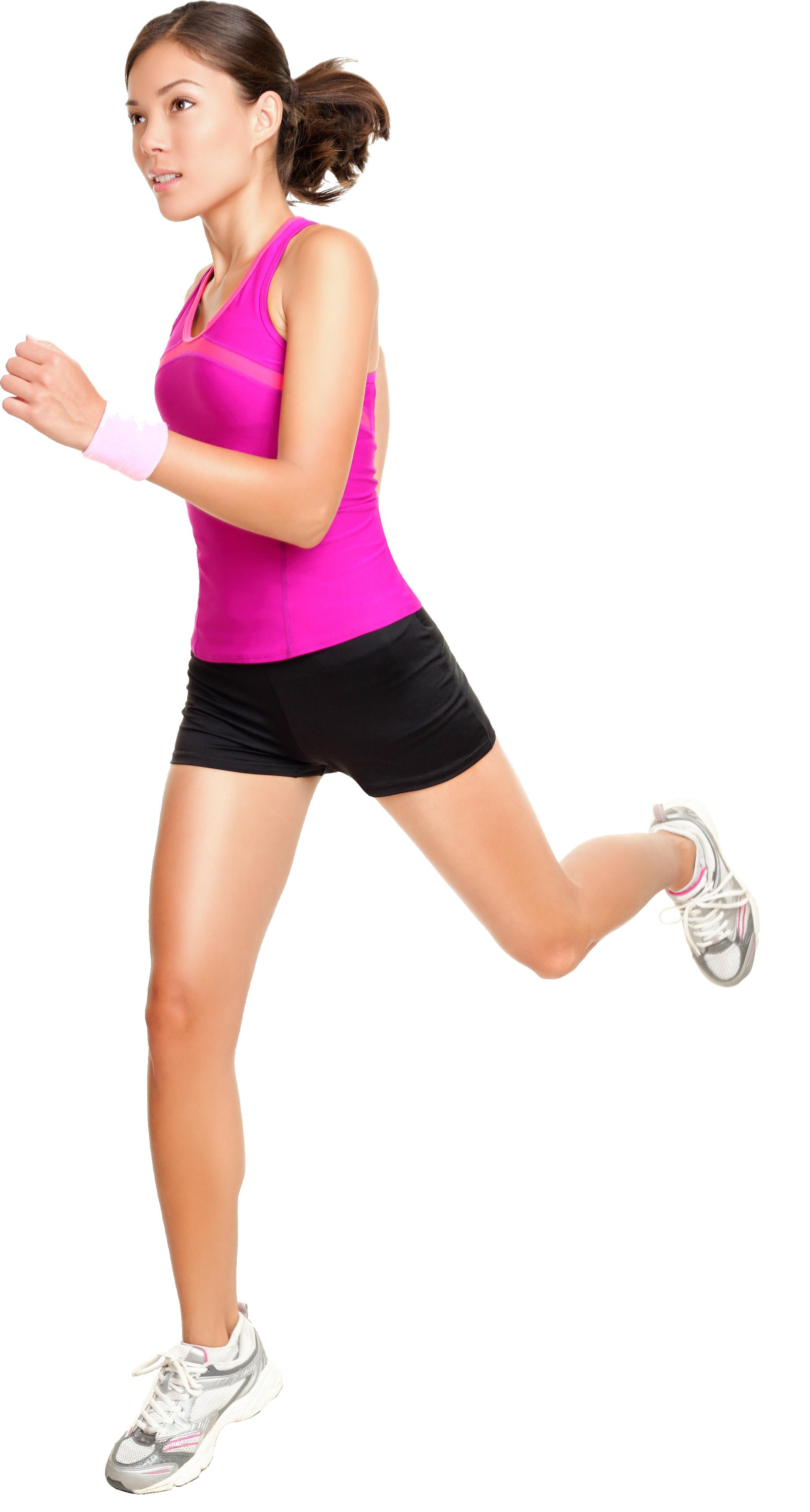 Woman Jogging PNG - 51231
