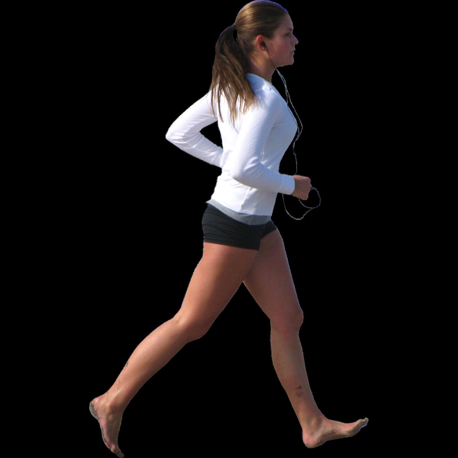 Woman Jogging PNG - 51232