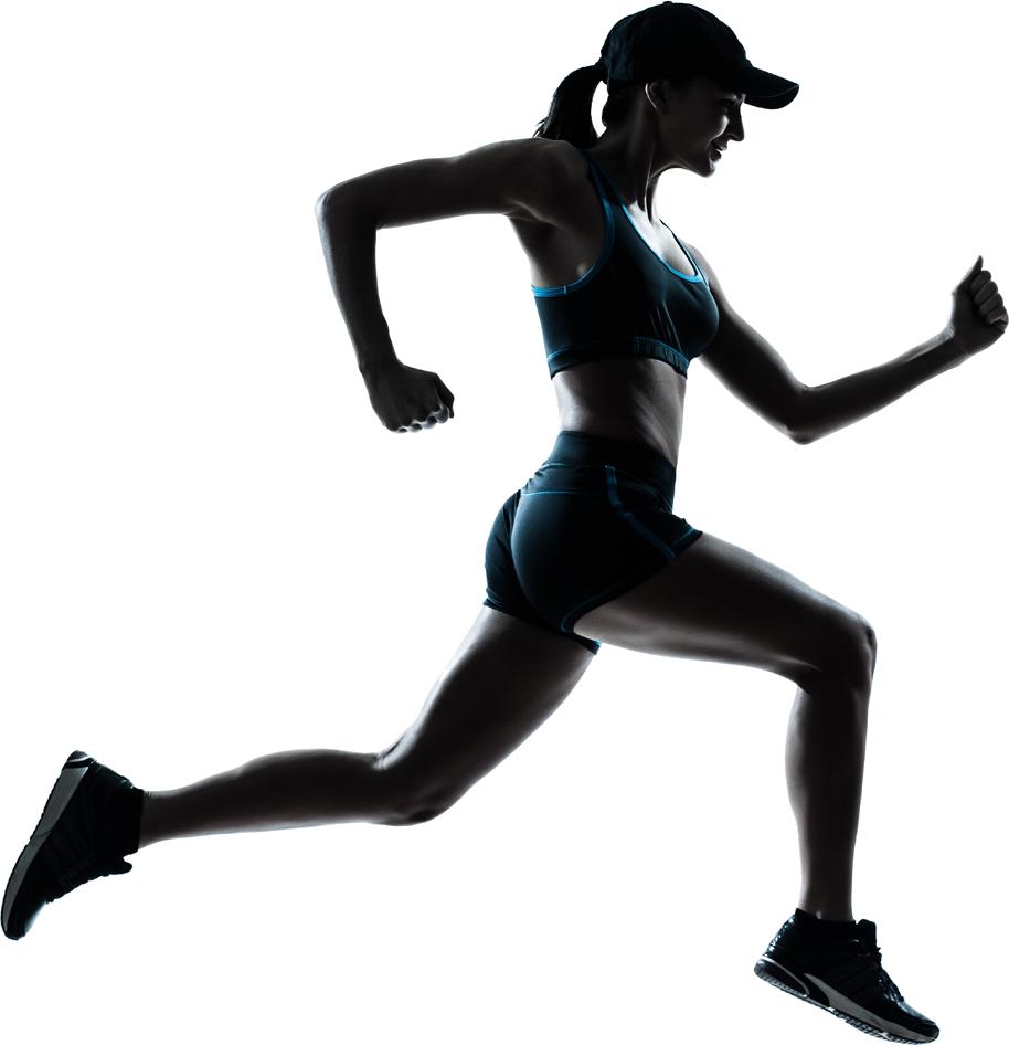 Woman Jogging PNG - 51243