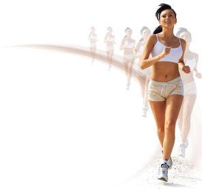 Woman Jogging PNG - 51246