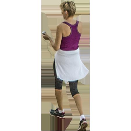 Woman Jogging PNG - 51236