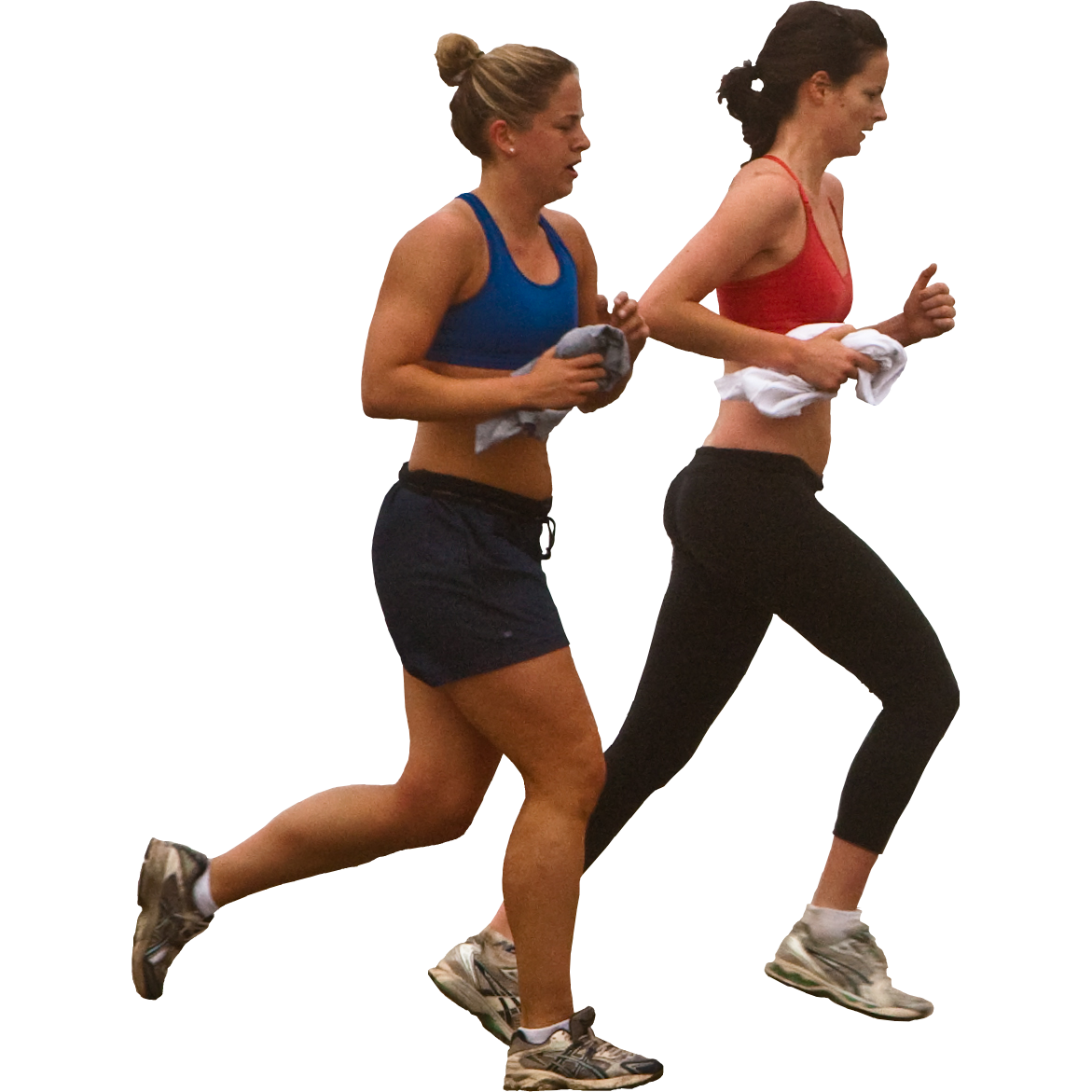 Woman Jogging PNG