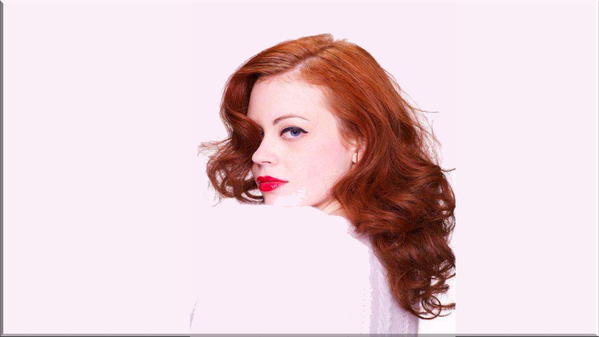 Women - Model Redhead Woman Wallpaper - Women HD PNG
