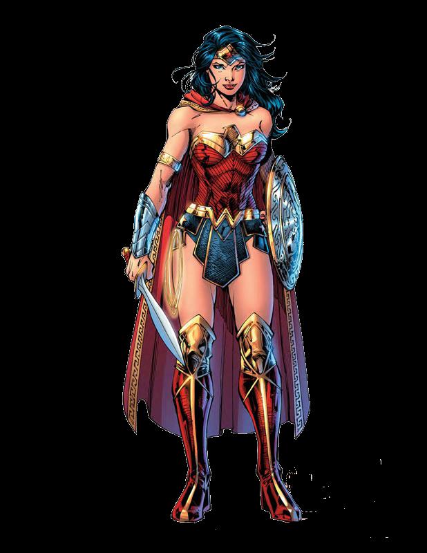 Wonder Woman Comic PNG Render by MrVideo-VidMan - Wonder Woman PNG