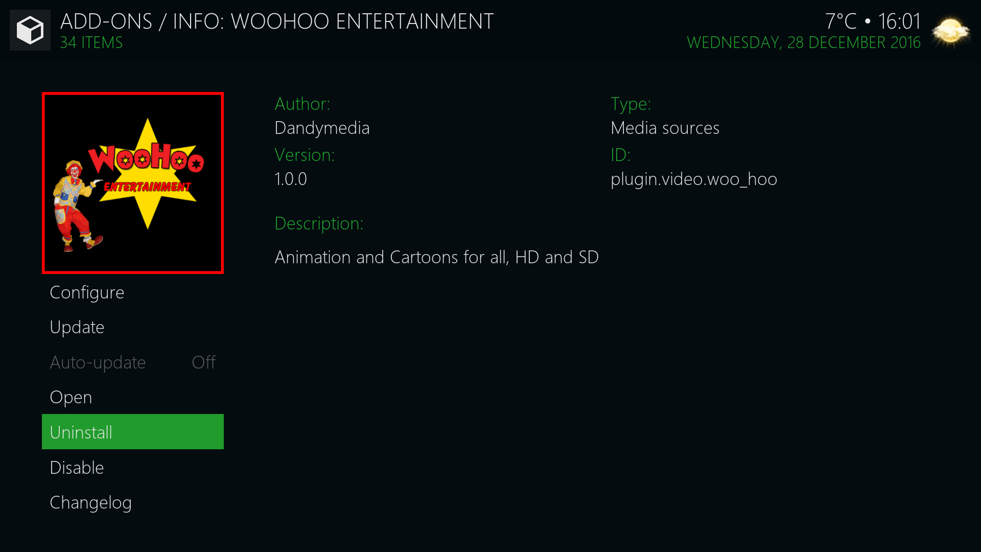 Guide Install WooHoo Entertainment Kodi Addon Repo - Woo Hoo PNG HD
