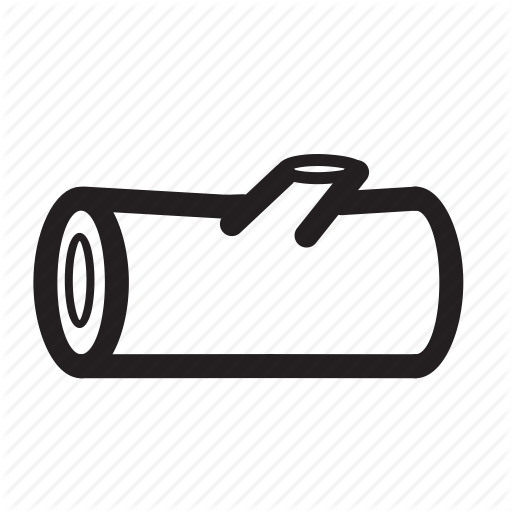 Wood Log PNG Black And White - 45150