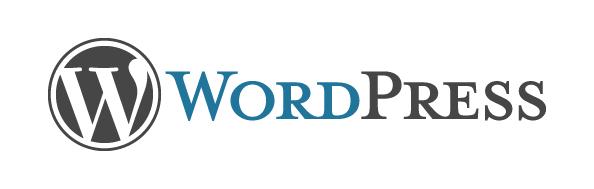 WordPress. Horizontal Color Logo - Wordpress Logo PNG