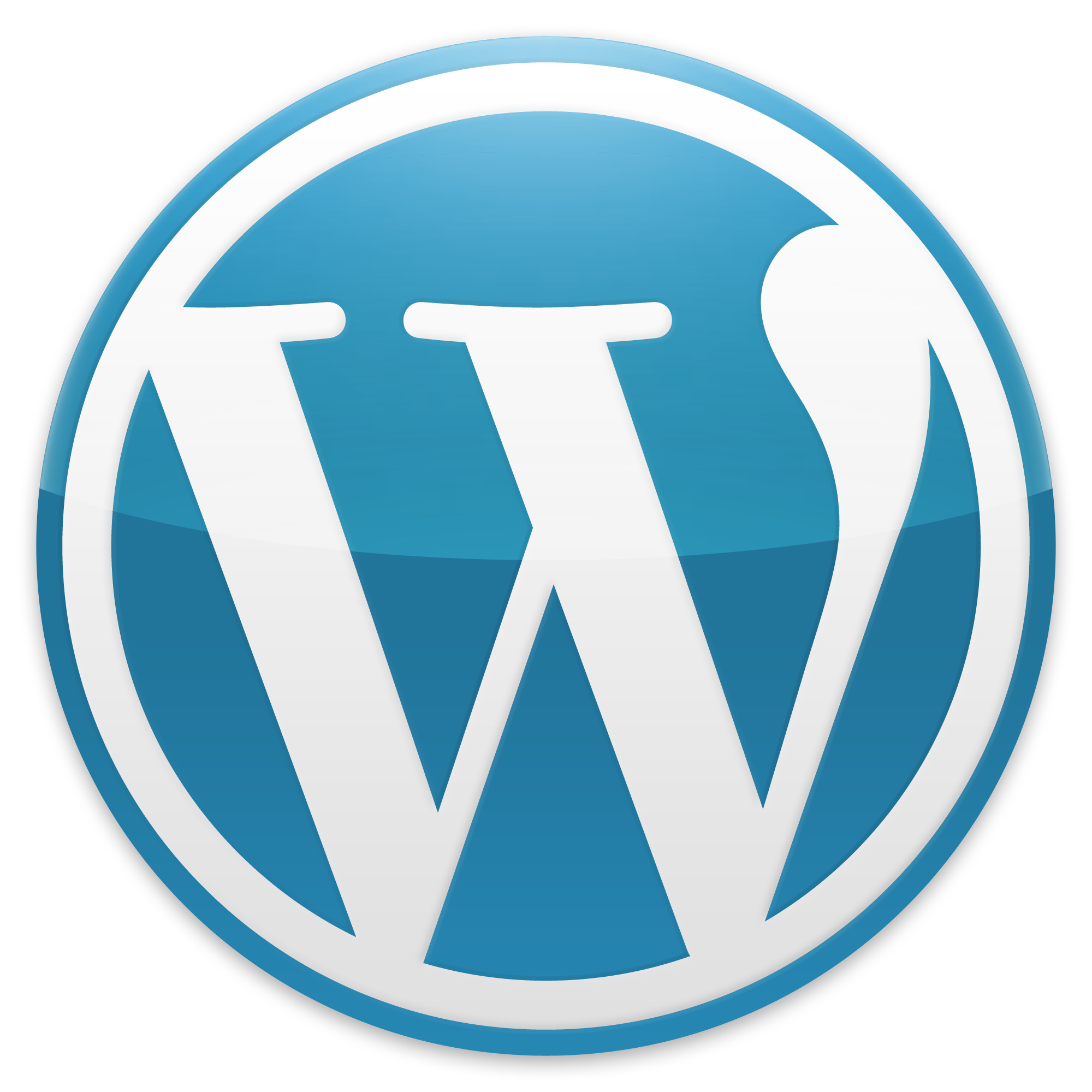 File:Wordpress Blue logo.png - Wordpress Logo PNG