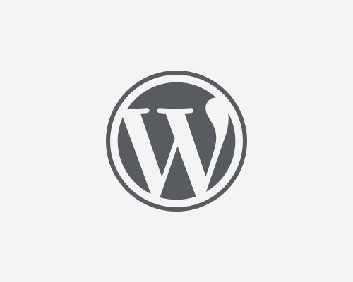 WordPress Logotype - W Mark - Wordpress Logo PNG