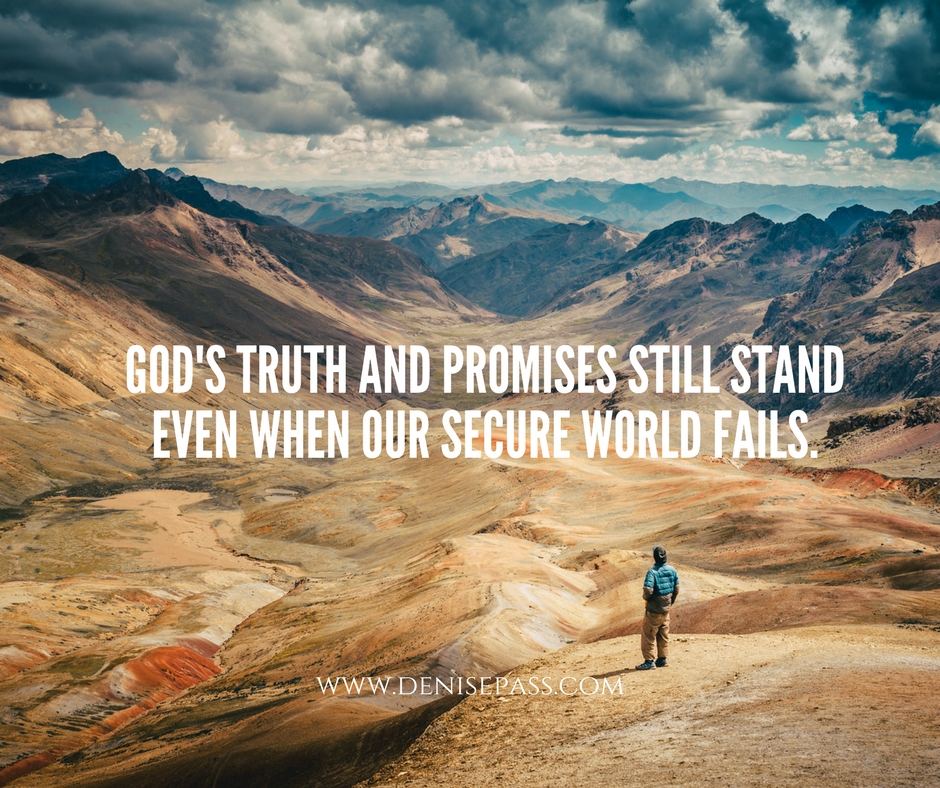 Believing God When your World is Falling Apart - World Falling Apart PNG