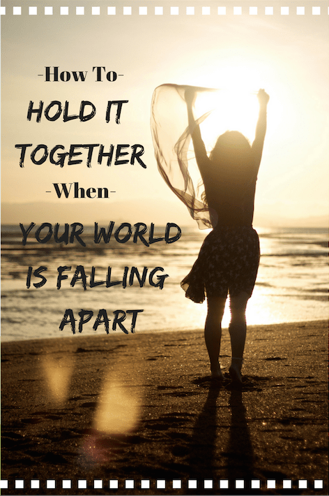 How to Hold It Together When Your World is Falling Apart u2013 Cherishing Every  Day - World Falling Apart PNG