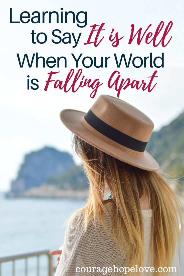 Learning to Say It is Well When Your World is Falling Apart - World Falling Apart PNG
