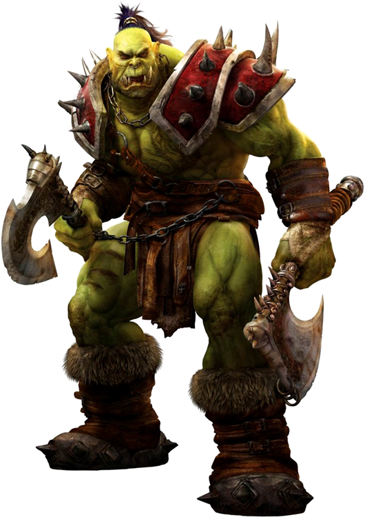 3D-Orc.png - World Of Warcraft PNG