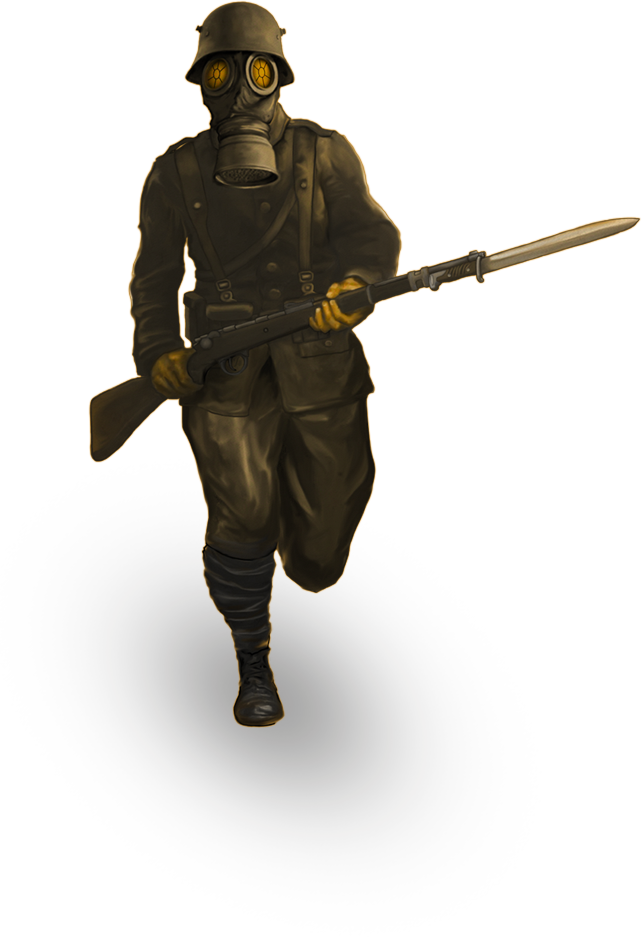 Muzzy Laneu0027s Strategy Game Making History: The Great War To Release This  July - World War 1 PNG