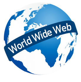 World Wide Web, Internet, Com