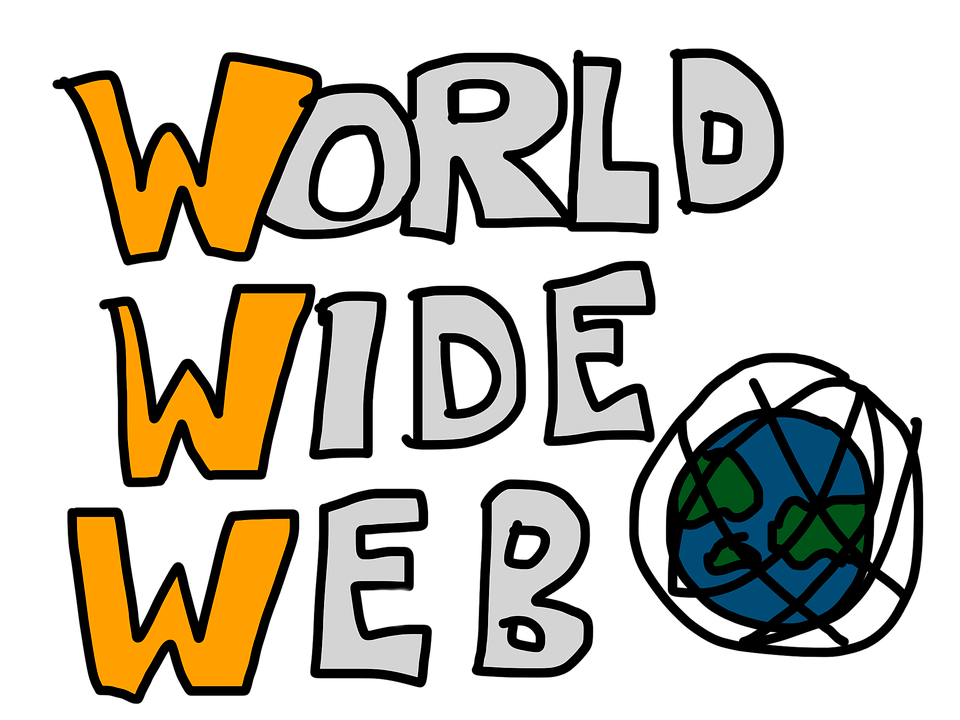World Wide Web, Www, Lettering, World, Internet, Globe - World Wide Web PNG