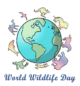 World Wildlife Day: Calendar, History, facts, when is date, things to do - World Wildlife Day PNG