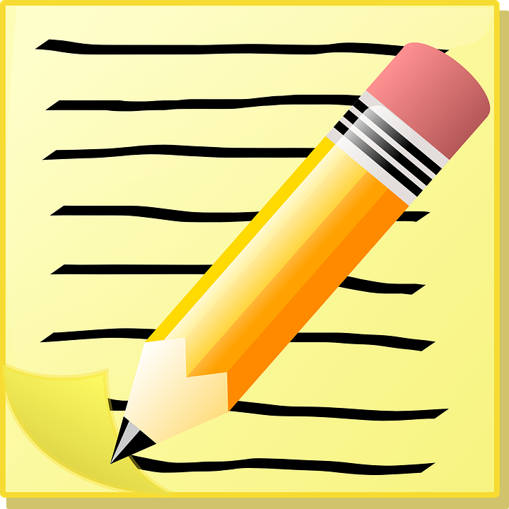 write note memo school paper pen pencil office - Writing A Note PNG