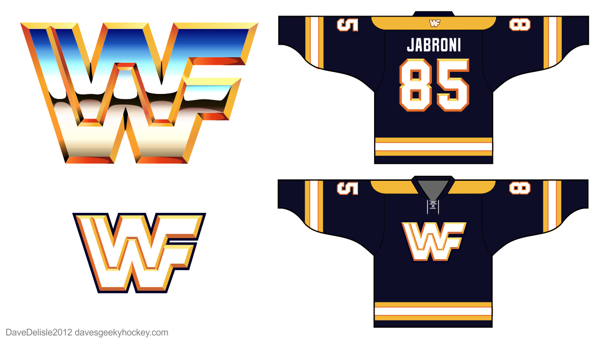 WWF Hockey Jersey