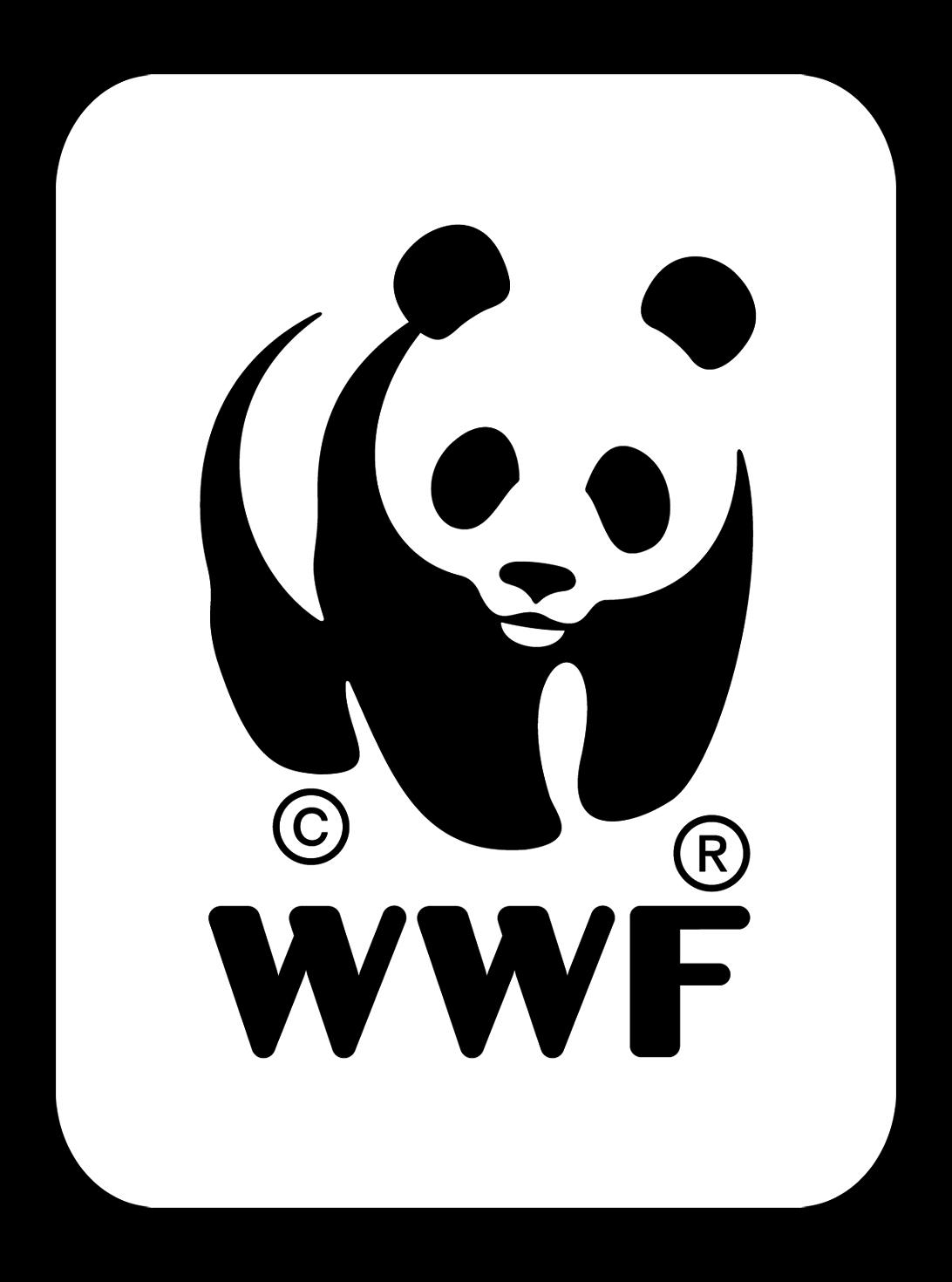 WWF logo (World Wildlife Fund) by Peter Scott (UK) u2013 logo panda - Wwf Logo Vector PNG