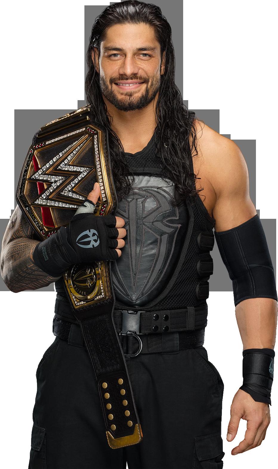 . PlusPng.com AmbriegnsAsylum16 Roman Reigns WWE Champion 2015 PNG by  AmbriegnsAsylum16 - Wwi PNG HD