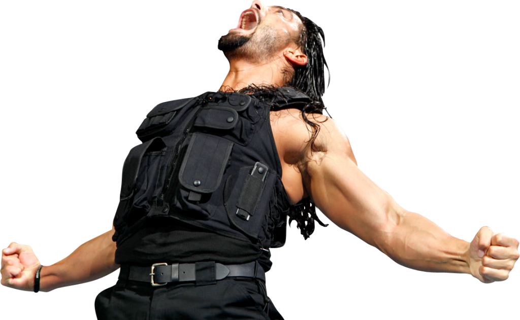 Roman Reigns Angry Png PNG Image - Wwi PNG HD