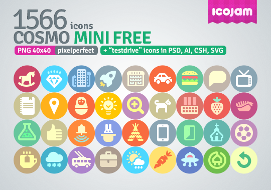 1566 icons in Cosmo mini free - WwwPNG Gratis