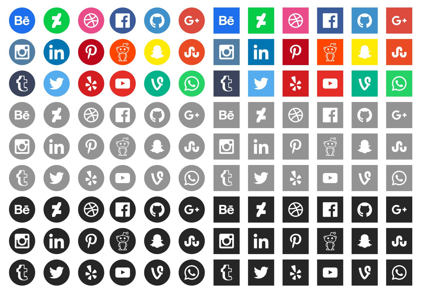 Free Social Media Icons by Vecteezy - WwwPNG Gratis