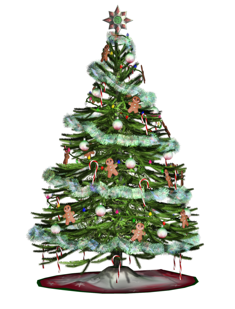Christmas Tree 2 PNG Stock by Roy3D PlusPng.com  - X Mas Tree PNG