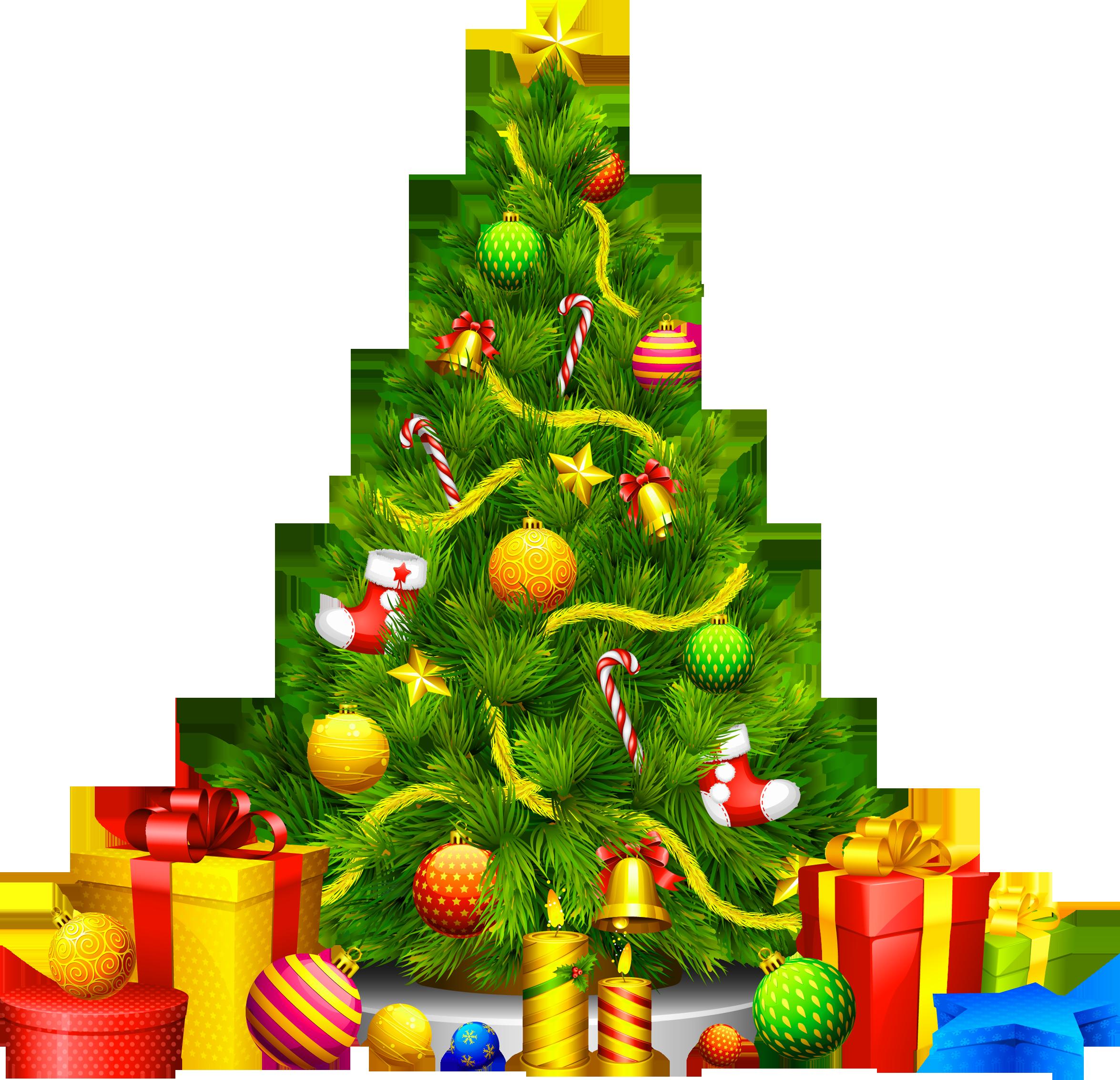 X Mas Tree PNG - 46372
