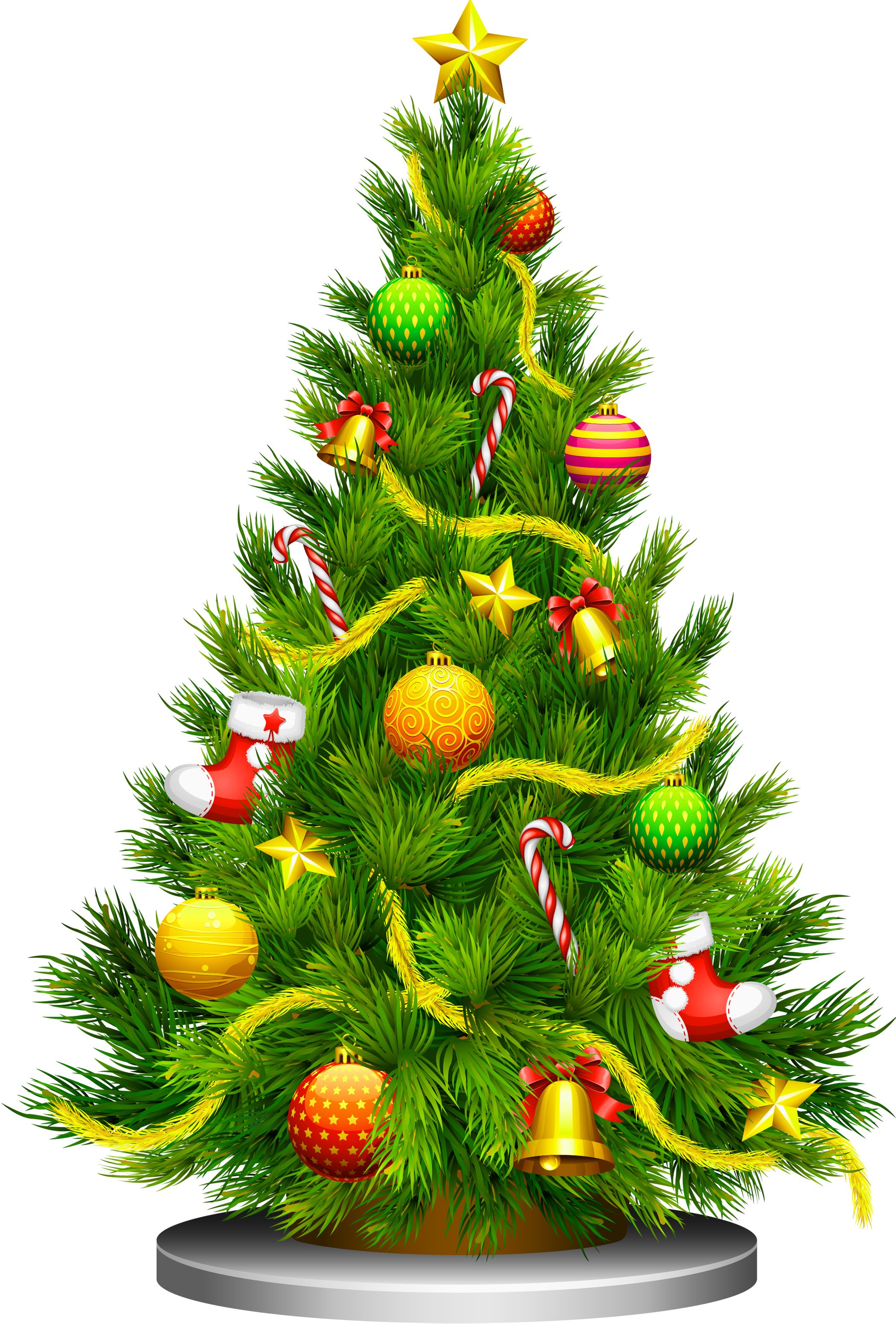 X Mas Tree PNG - 46378