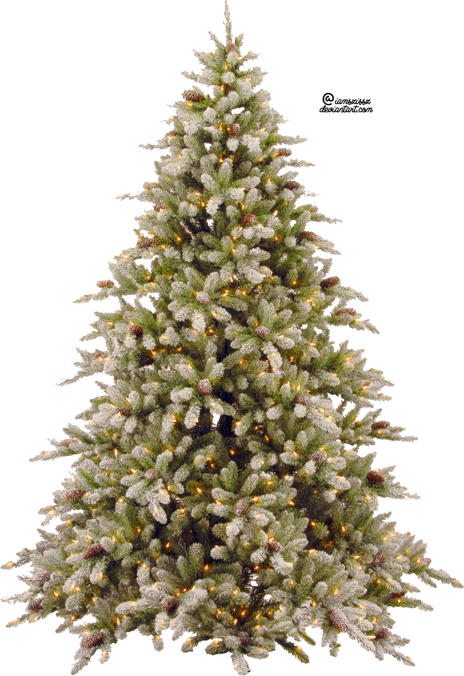 X Mas Tree PNG - 46383