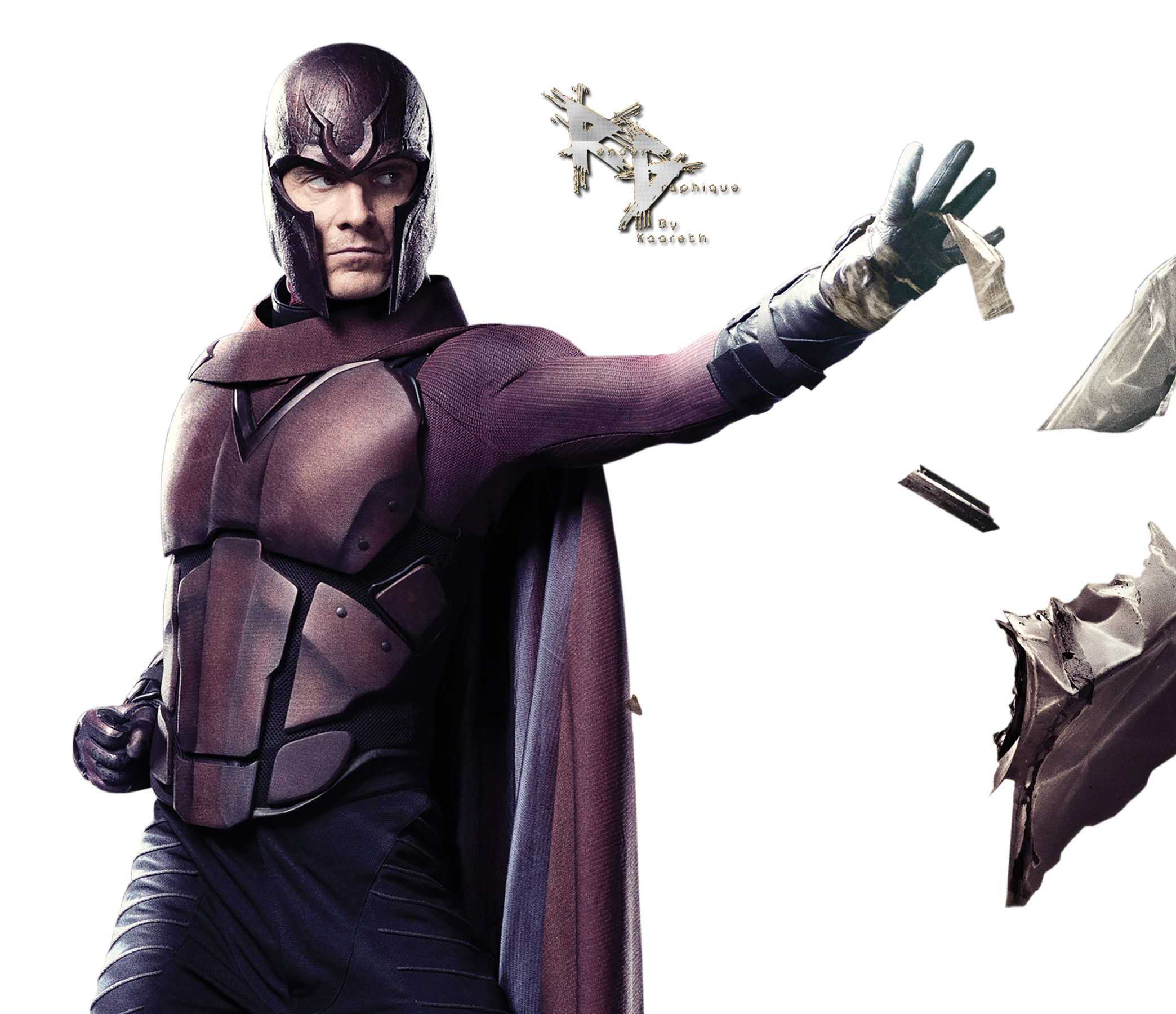 X Men Days Of Future Past Png - Magneto PNG