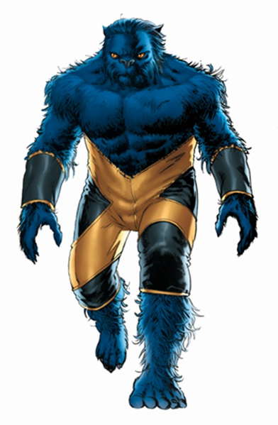 Beast Original.png - X-Men PNG