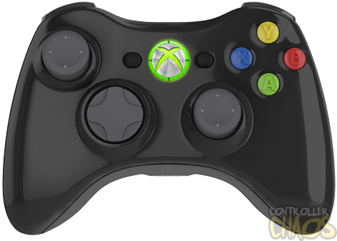 Authentic Microsoft Quality - Xbox 360 Controller PNG