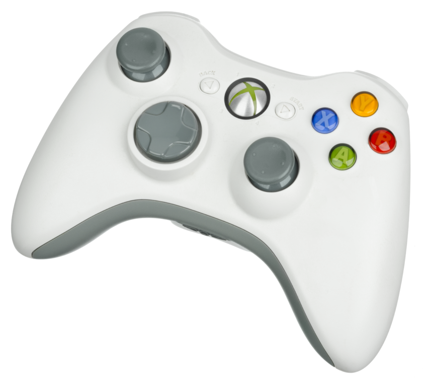 File:Xbox-360-Wireless-Controller-White.png - Xbox 360 Controller PNG