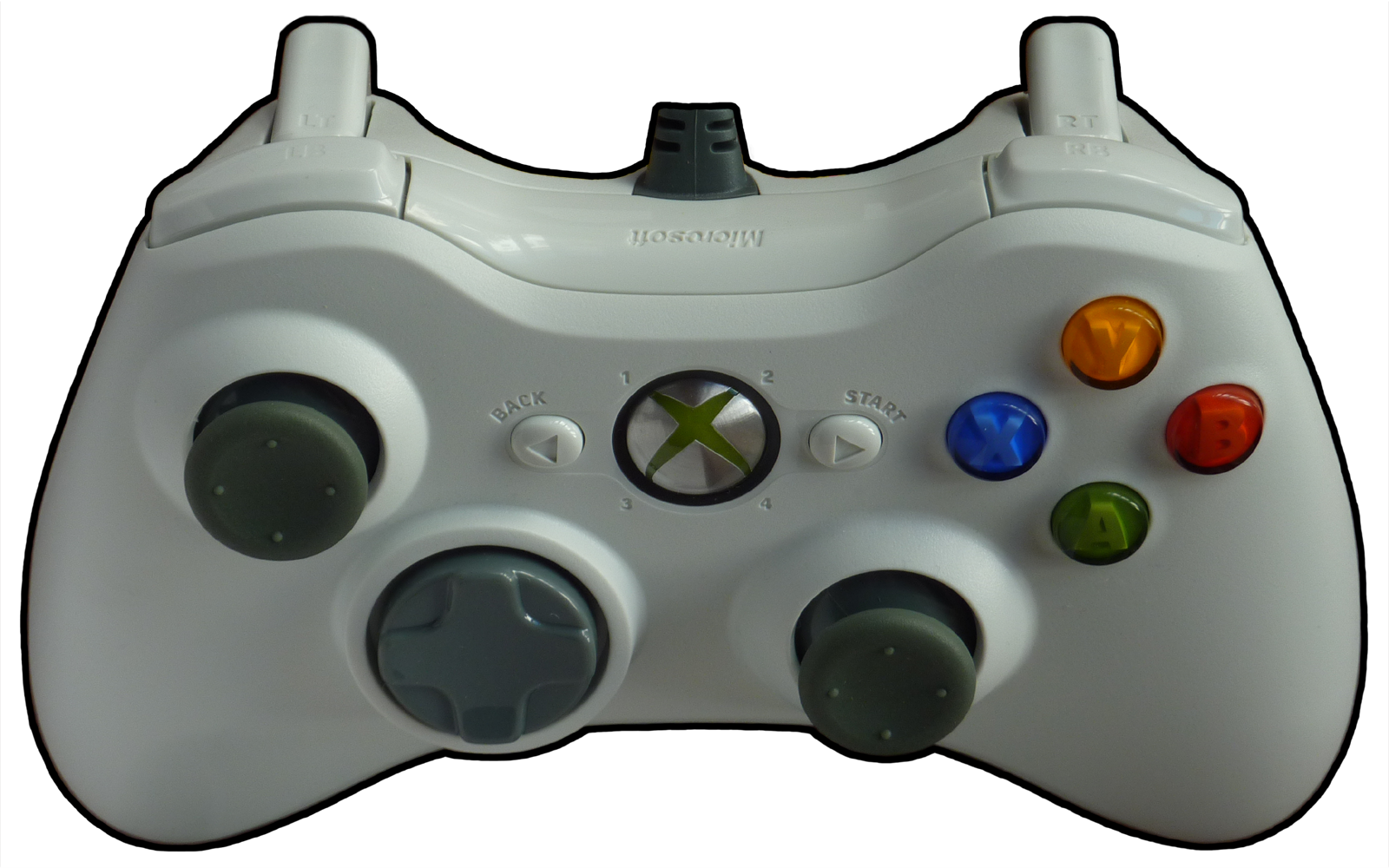 It PlusPng.com  - Xbox 360 Controller PNG