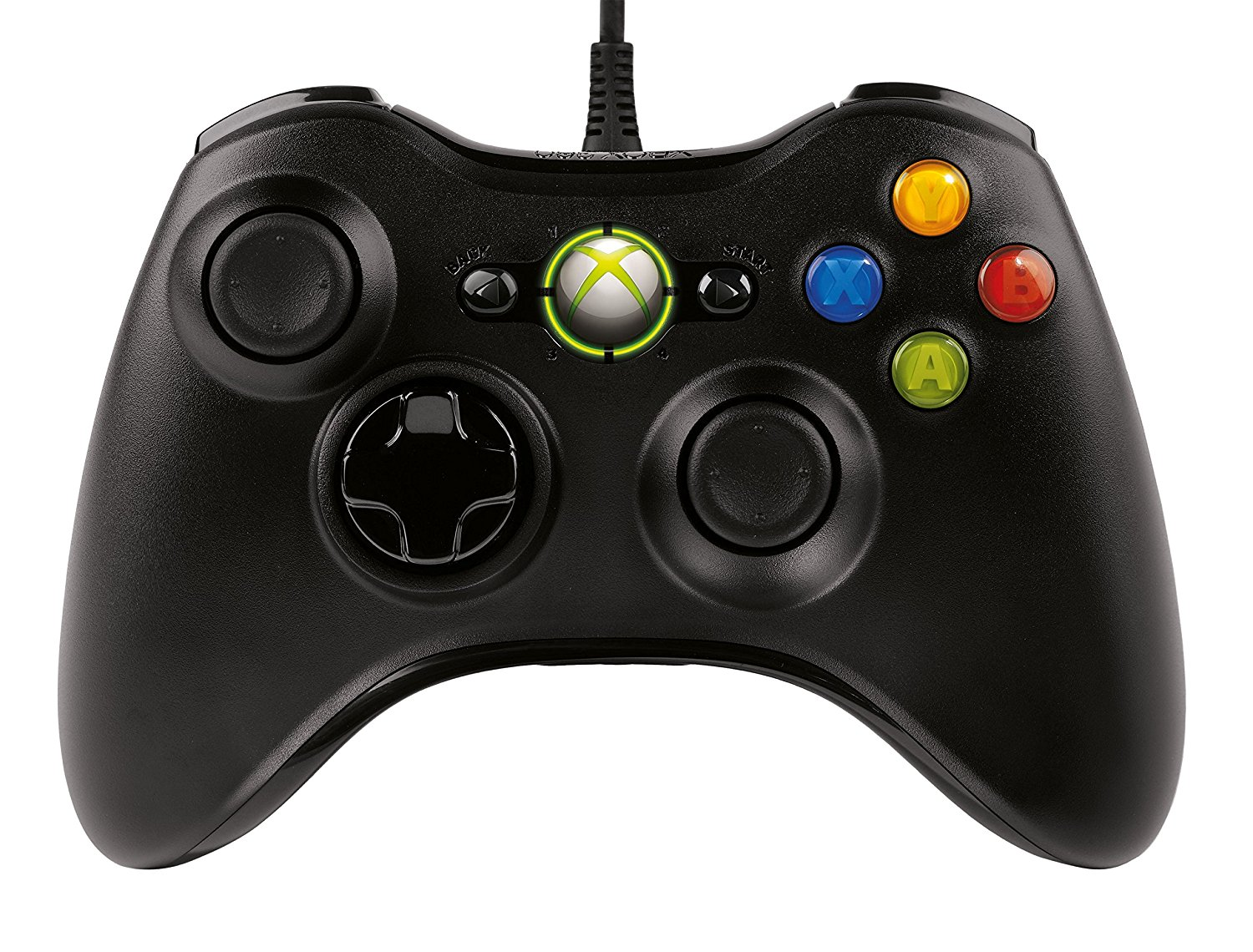 Official Xbox 360 Common Controller For Windows - Black (PC): Amazon.co.uk:  PC U0026 Video Games - Xbox 360 Controller PNG