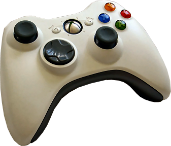 Xbox 360 Wireless Controller.png - Xbox 360 Controller PNG